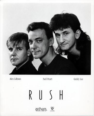 Rush Promo Print