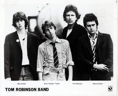 Tom Robinson Band Promo Print