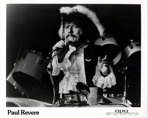 Paul Revere and the Raiders Promo Print