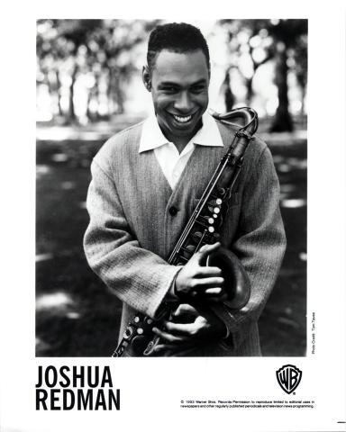 Joshua Redman Promo Print