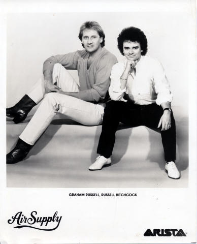 Air Supply Promo Print