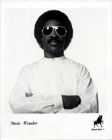 Stevie Wonder Promo Print