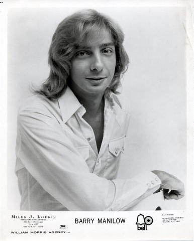 Barry Manilow Promo Print