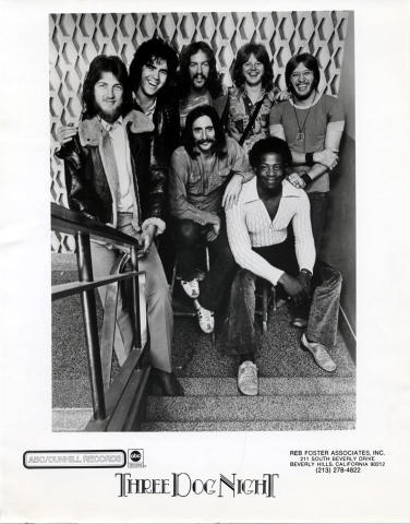 Three Dog Night Promo Print