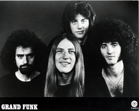 Grand Funk Railroad Promo Print