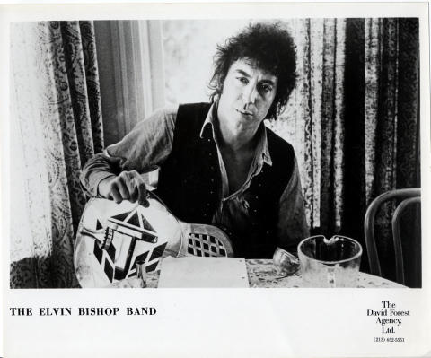 The Elvis Bishop Band Promo Print