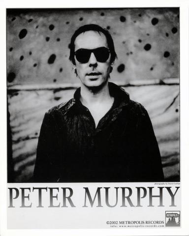 Peter Murphy Promo Print