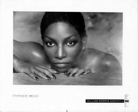 Stephanie Mills Promo Print