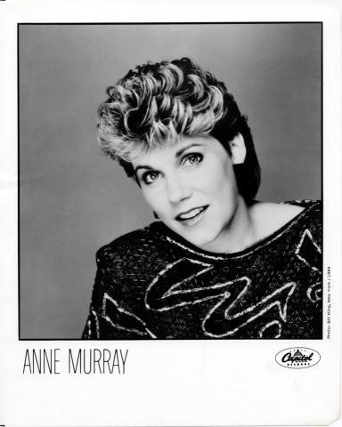 Anne Murray Promo Print