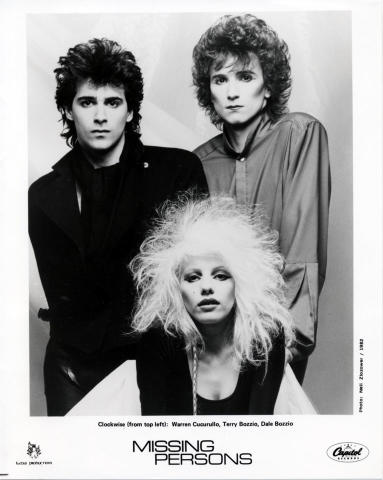 Missing Persons Promo Print