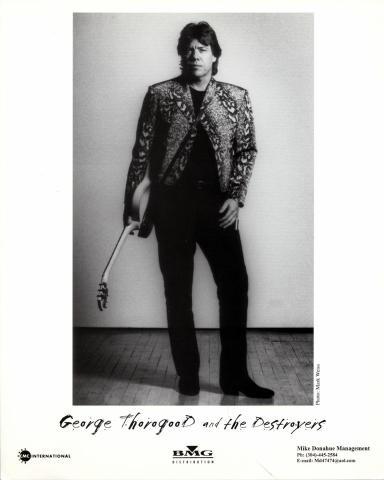 George Thorogood & The Destroyers Promo Print
