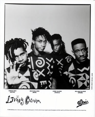 Living Colour Promo Print