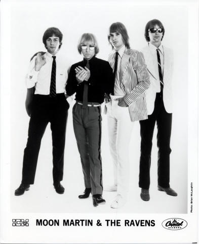 Moon Martin & the Ravens Promo Print