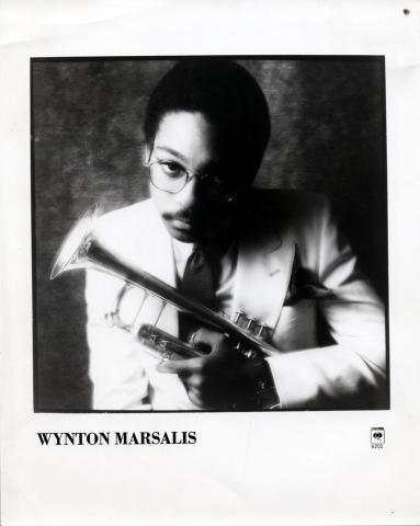 Wynton Marsalis Promo Print