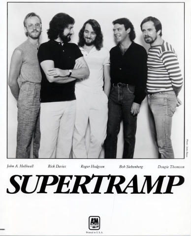Supertramp Promo Print