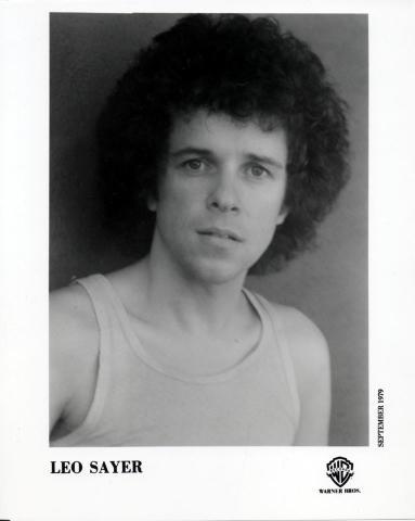 Leo Sayer Promo Print