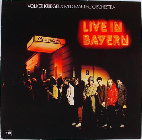 """Volker Kriegel Vinyl 12"""""""