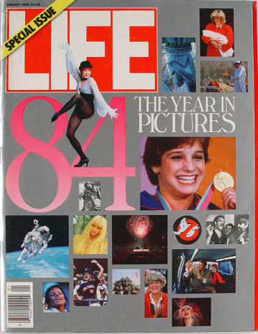 LIFE Magazine January 1985 - The Year in Pictures 1984