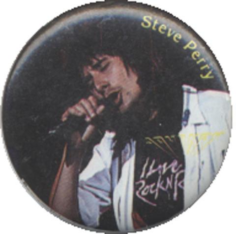 Steve Perry Pin