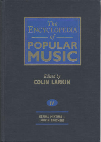 The Encyclopedia Of Popular Music, Vol. 4