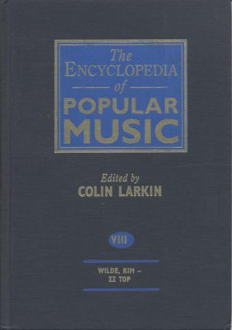The Encyclopedia Of Popular Music, Vol. 8