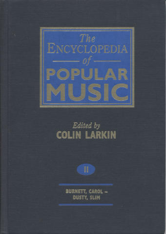 The Encyclopedia Of Popular Music, Vol. 2