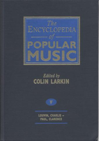 The Encyclopedia Of Popular Music, Vol. 5