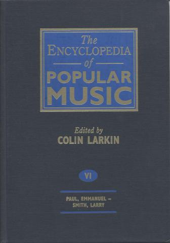 The Encyclopedia Of Popular Music, Vol. 6