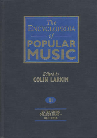 The Encyclopedia Of Popular Music, Vol. 3