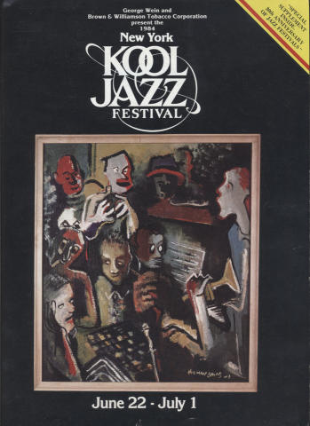 New York Kool Jazz Festival Program
