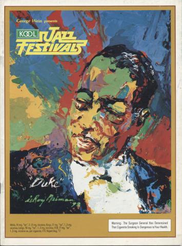 Kool Jazz Festivals Program