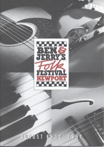 Ben & Jerry's Newport Folk Festival Program