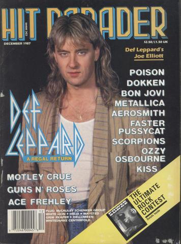Hit Parader December 1987