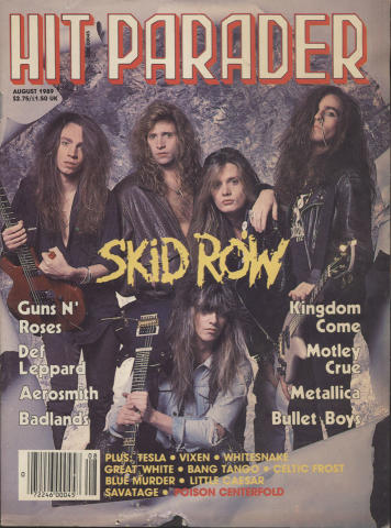 Hit Parader August 1989