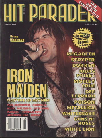 Hit Parader August 1988