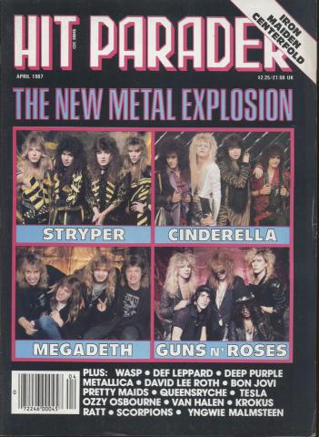 Hit Parader April 1987