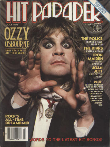 Hit Parader July 1983
