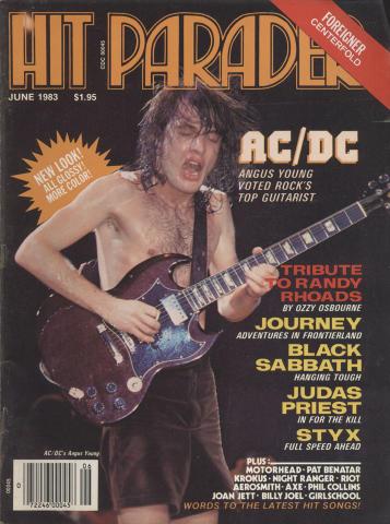 Hit Parader June 1983