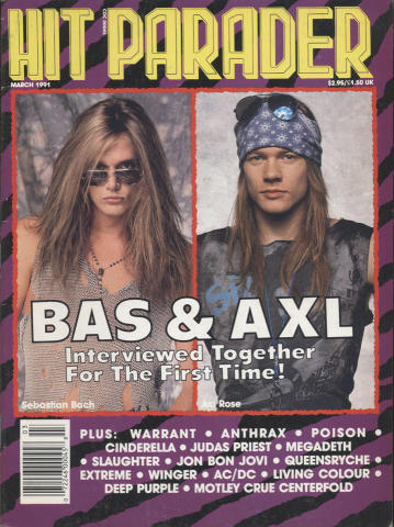 Hit Parader Magazine March 1991