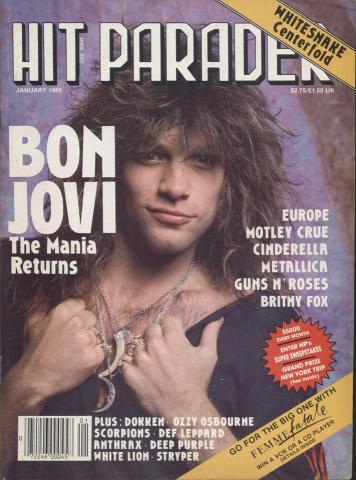 Hit Parader January 1989