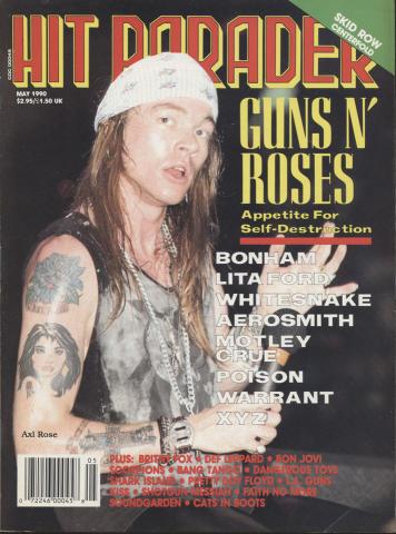 Hit Parader May 1990