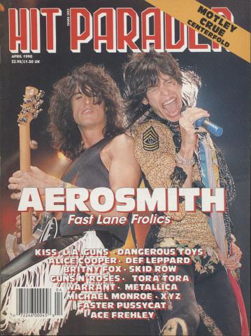 Hit Parader April 1990
