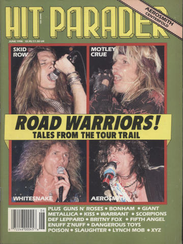 Hit Parader June 1990