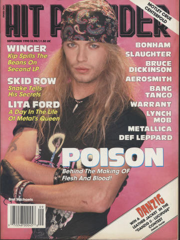 Hit Parader September 1990