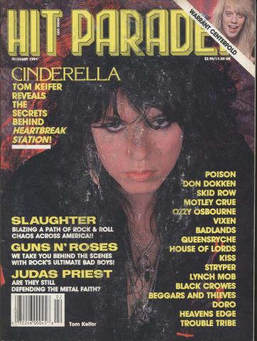 Hit Parader Magazine February 1991