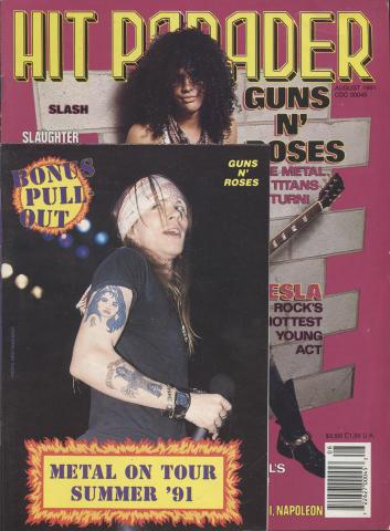 Hit Parader Magazine August 1991