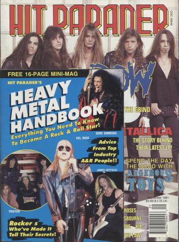 Hit Parader Magazine September 1991