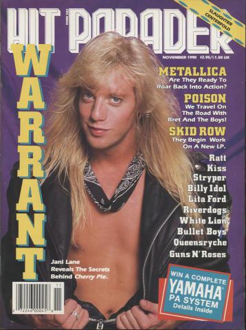 Hit Parader November 1990