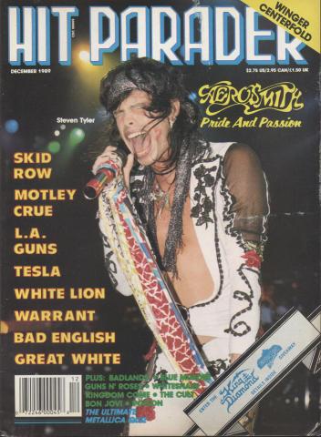 Hit Parader December 1989