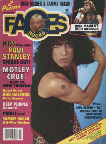 Rocks Faces Magazine March 1985